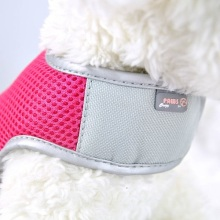 China for Best Air Breathing Mesh Harness,Colorful Mesh Harness,Mesh Harness for Dogs,Stress Free Mesh Harness for Sale Pink XS Airflow Mesh Harness with Velcro supply to Indonesia Manufacturer
