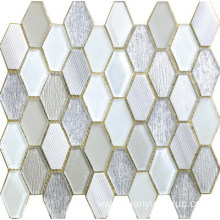 elegant and graceful hexagon mosaic