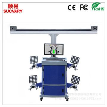 Best Price for for 3D Wheel Aligner with Cabinet Double Screen 3D Wheel Alignment supply to Bhutan Importers