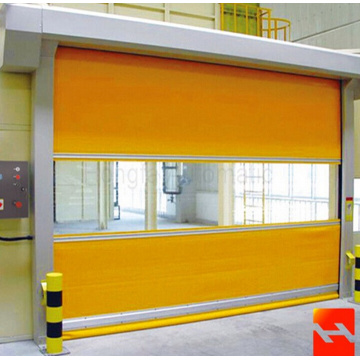 PVC Material and Automatic Roller Shutter Door