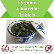 Low Heavy Metals Micro Contents Organic Chlorella Tablets