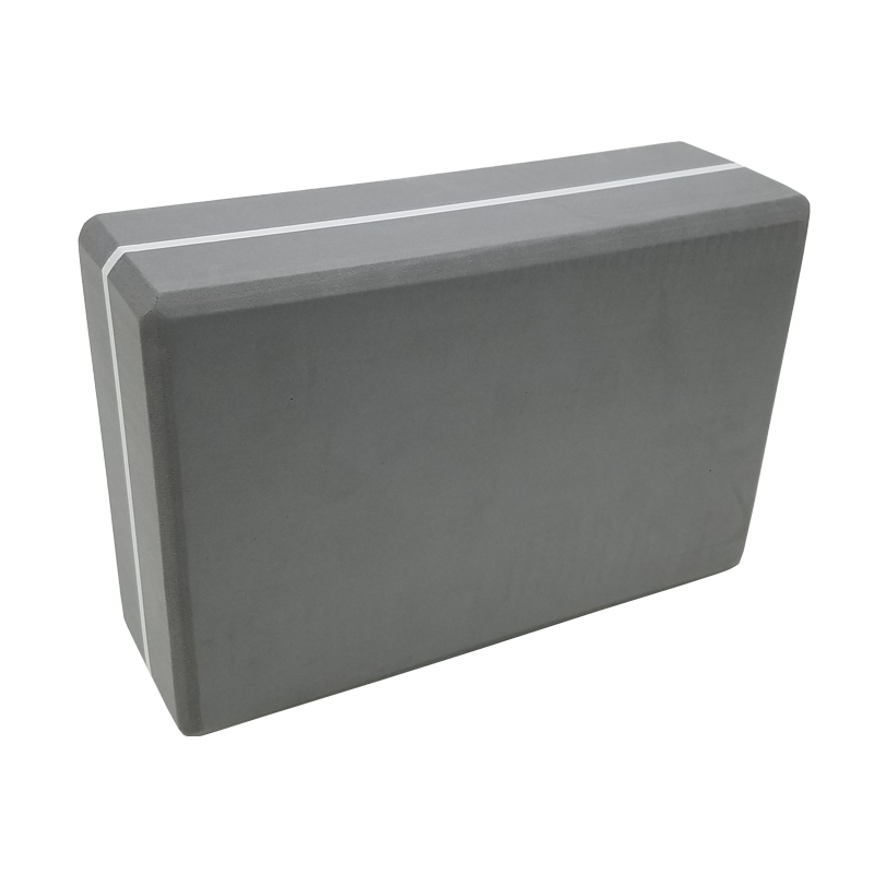 Grey Yoga Brick