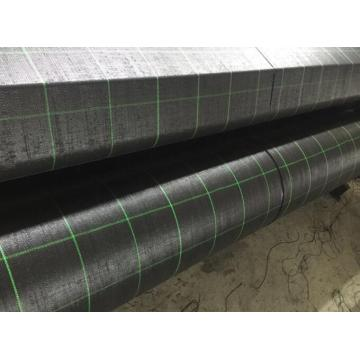New Fashion Design for Flat Strip Woven Geotextile Anti-grass Cloth Weed Mat, PP woven geotextile fabric export to South Korea Wholesale