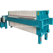 The endurable diaphragm filter press