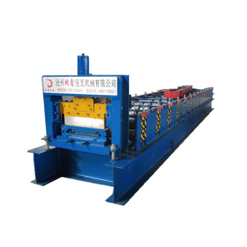 DX colored steel siding wall panel forming machine
