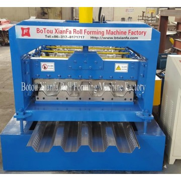 Steel Structure House Floor Deck Roll Forming Machine