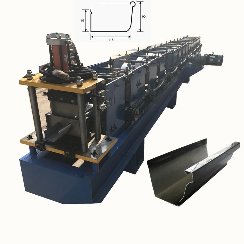 Half Round Cutter Roll Forming Machine