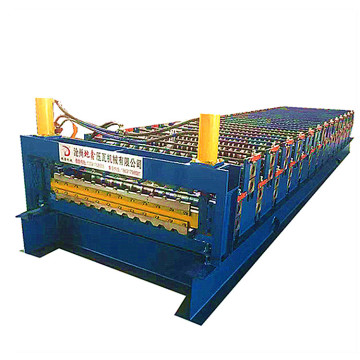 Russian customization trapezoidal roll forming machine