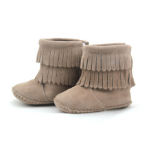 Good Quality for Baby Boots Wholesales Handmade Double-Deck Moccasin Baby Boots supply to Spain Factory