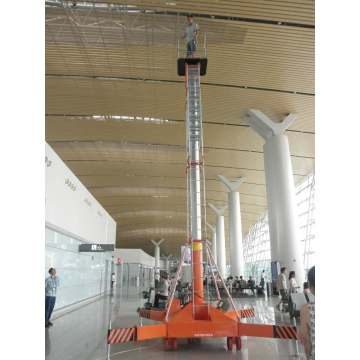 15m Electric Lift Ladder Hydraulic Telescopic Man Lift