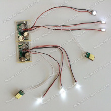 push button LED.Led Flashing Module,Promotional Gift