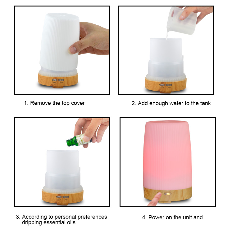 essential oil diffuser 100ml