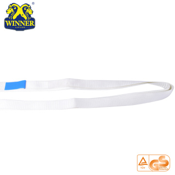 Heavy Duty Factory Price Polyester Soft Webbing Round Sling