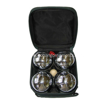 Bottom price for Professional Petanque Boules,Outdoor Boules,Petanque Boules Set Manufacturing Chrome Boule De Petanque export to Seychelles Factory