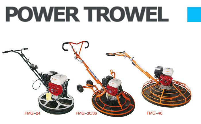 Walk-behind Power Trowel