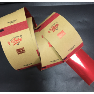 Paper Laser Roll Film Label