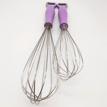 Multi-functional stainless steel whisk
