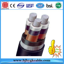UV Stabilized Middle Voltage Electric Cable 6.35kV / 11kV