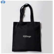 Black canvas promotional bag
