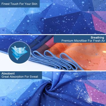 Digitek women Cooling Sports Daily Microfiber Towels