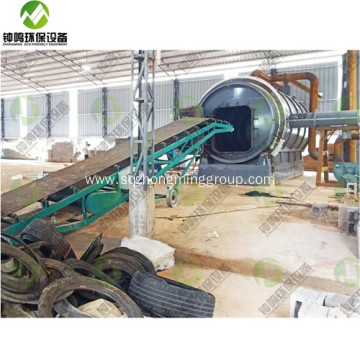 Waste Tyre Pyrolysis Plant Cost Video in INDIA