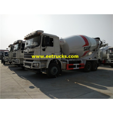 SHACMAN 12000 Litres Beton Transit Mixing Vehicles