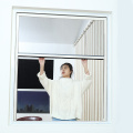 Retractable window with aluminum frame 0920