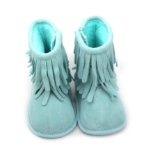 Factory made hot-sale for Baby Boots Moccasins Dress Shoes Baby Moccasins Newborn Boots supply to Poland Factory