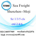 Shenzhen Port LCL Consolidation To Moji