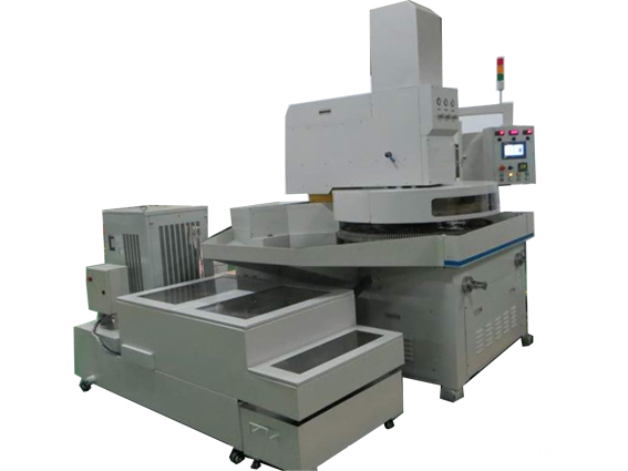 Rotor and stator surface precision grinding machine