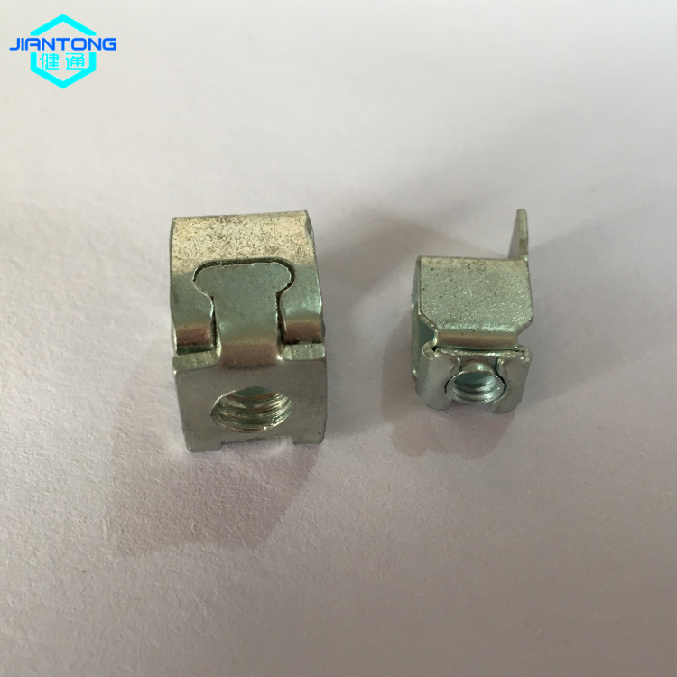 Custom Galvanzied Steel Progressive Die Stamping Part 5