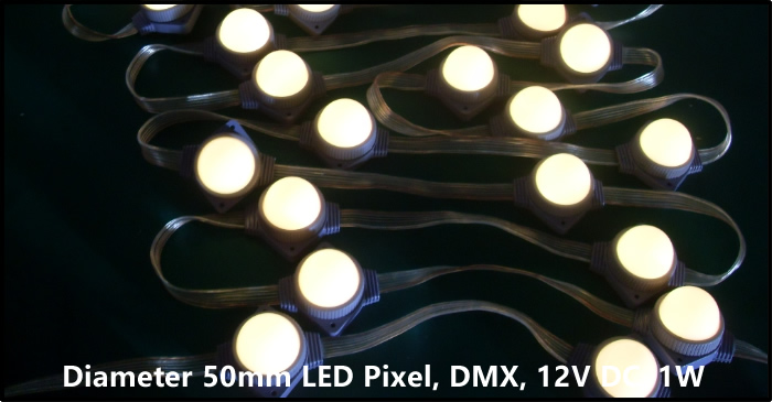 addressable led pixel light