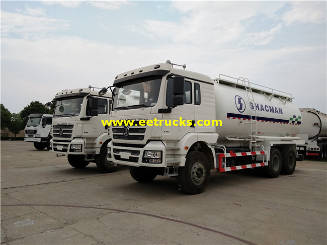 SHACMAN Dry Powder Tank Trucks