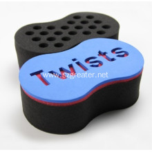 Single Side Barber Twists Natural Hair Sponge Brush