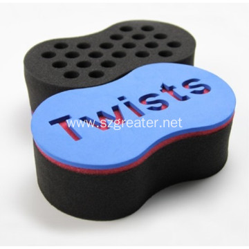 Magic Twist hair brush sponge