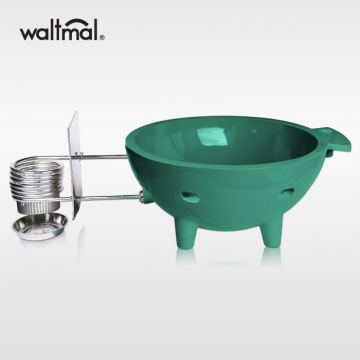 Waltmal Outdoor Hot Tub in Atrovirens
