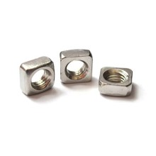 Stainless Steel Silver Square Nuts