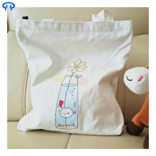 Factory Free sample for Canvas Grocery Bags White zipper large canvas bag export to India Factory