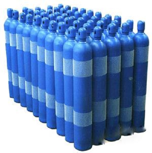 Oxygen Bottle Blue