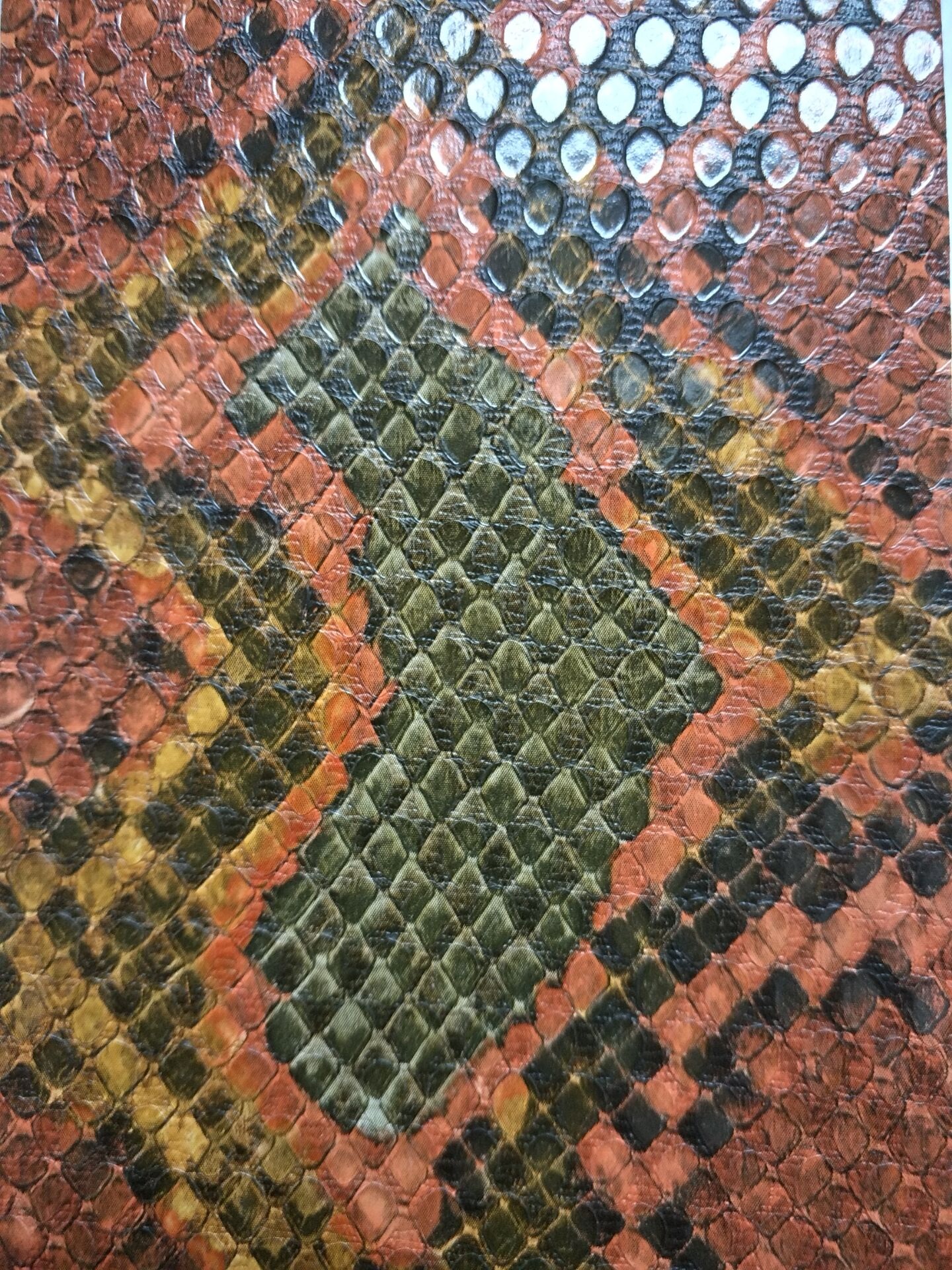 Snake Prints Artificical Leather
