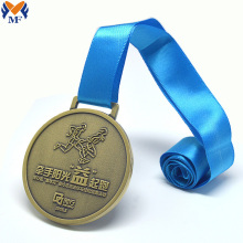Hot popular personalised custom run medals