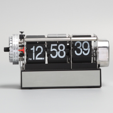 Retro Alarm Flip Desk Clock