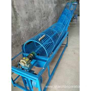 QX-200 sweet potato cleaning conveyor