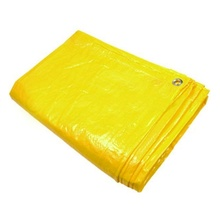 New Arrival for Tarpaulin Fabric Yellow PE Tarpaulin Lumber Wrap supply to Indonesia Exporter