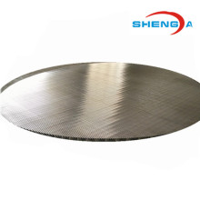 Leading for Ss Circular Platelike Johnson Screen Circular Wedge Wire Filter Plate for Beer supply to Aruba Importers