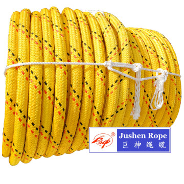 UHMWPE Double Brarded Mooring Rope