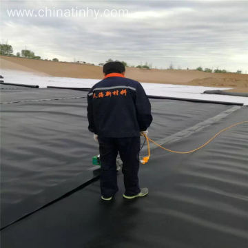 Textured surface geomembrane type HDPE liner price