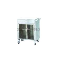 Stainless steel 30 lattice medical records folder