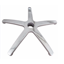 Hot Selling for Supply Aluminum Chair Base, Aluminum Cabinet Handles, Aluminium Casting Furniture Parts to Your Requirements Aluminum Die Casting Chair base For Furniture Parts supply to Guadeloupe Exporter