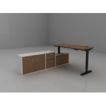 Customized for Modern Office Desk Wooden Popular Office Table Executive Ceo Desk supply to France Wholesale